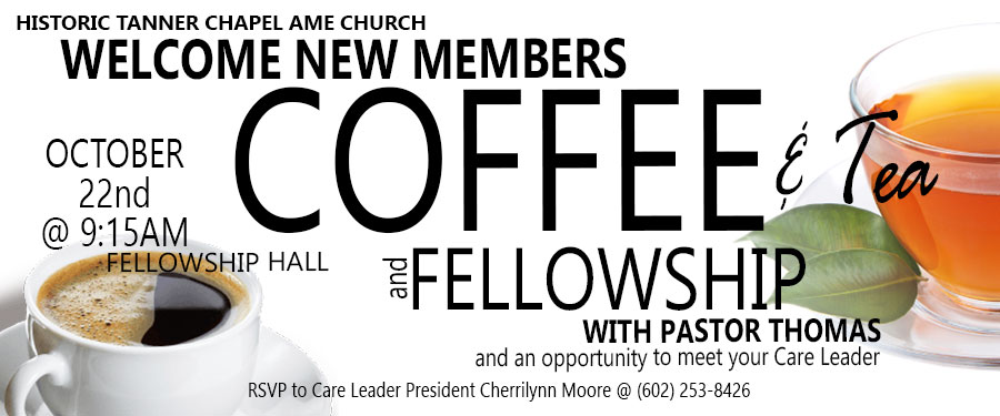 Coffee & Tea Hour With Pastor Thomas