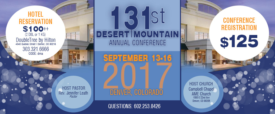 131st Desert Mountain Annual Conference