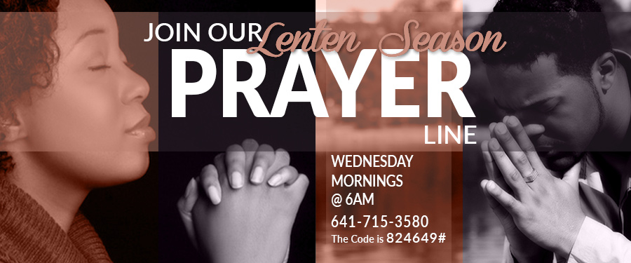 LENTEN SEASON DAILY PRAYER LINE