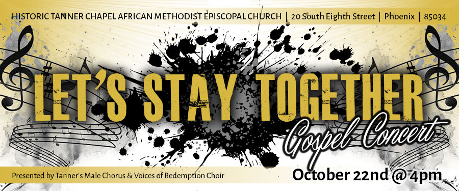 Let's Stay Together Gospel Concert
