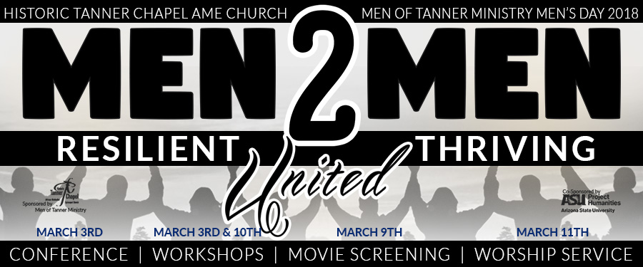 MEN 2 MEN - MEN'S CONFERENCE & MEN'S DAY CELEBRATION