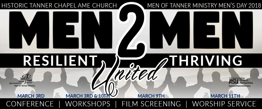 MEN OF TANNER MEN'S CONFERENCE & MEN'S WEEKEND