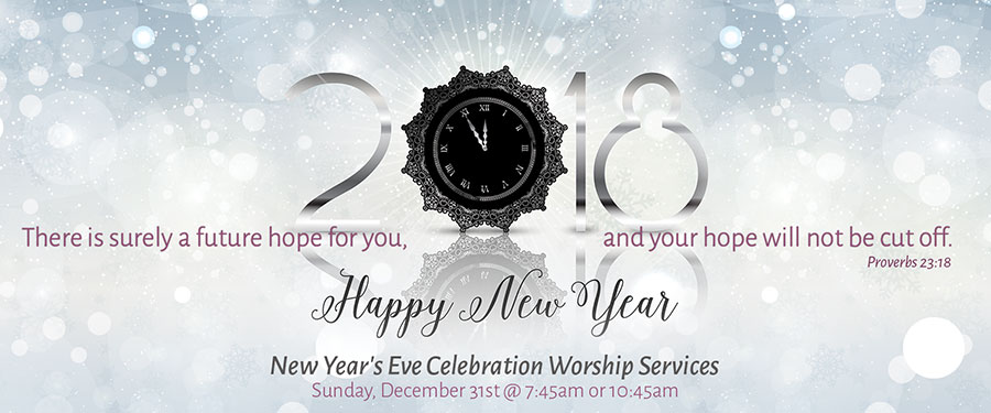 New Year's Eve Celebration Worship Services