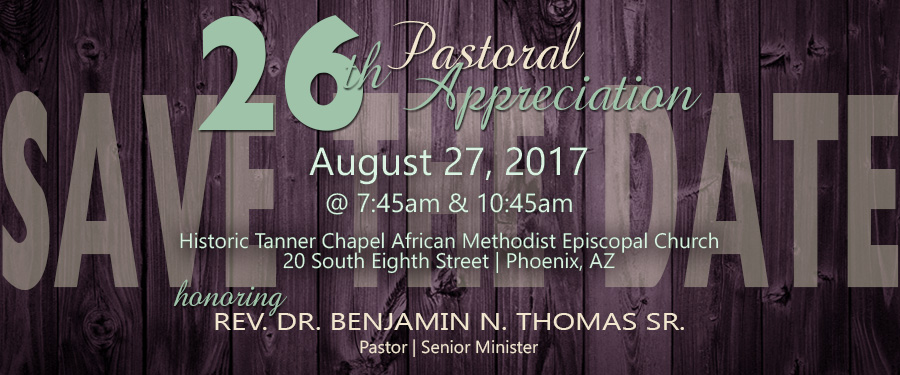 26th Pastoral Appreciation Service