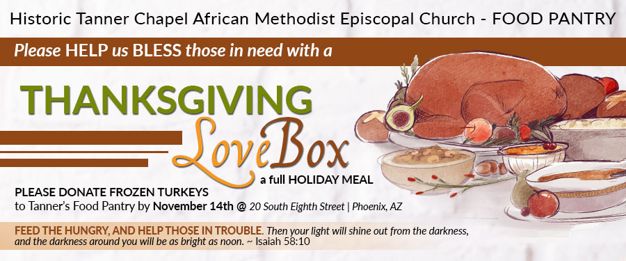 Thanksgiving Love Box Donation Drive