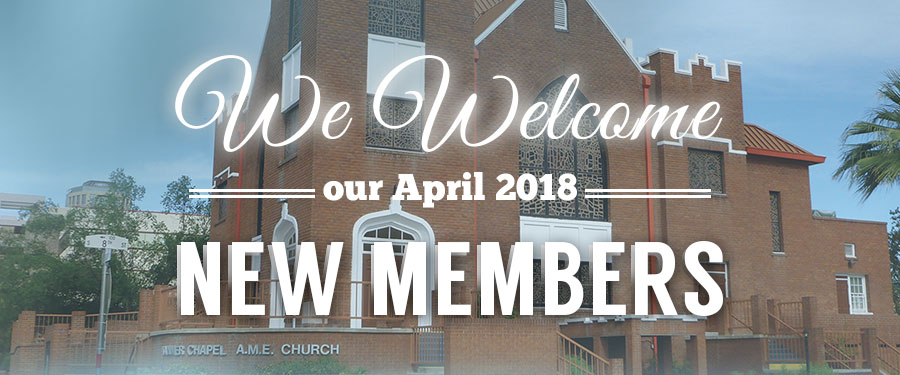Welcome New Tanner Members